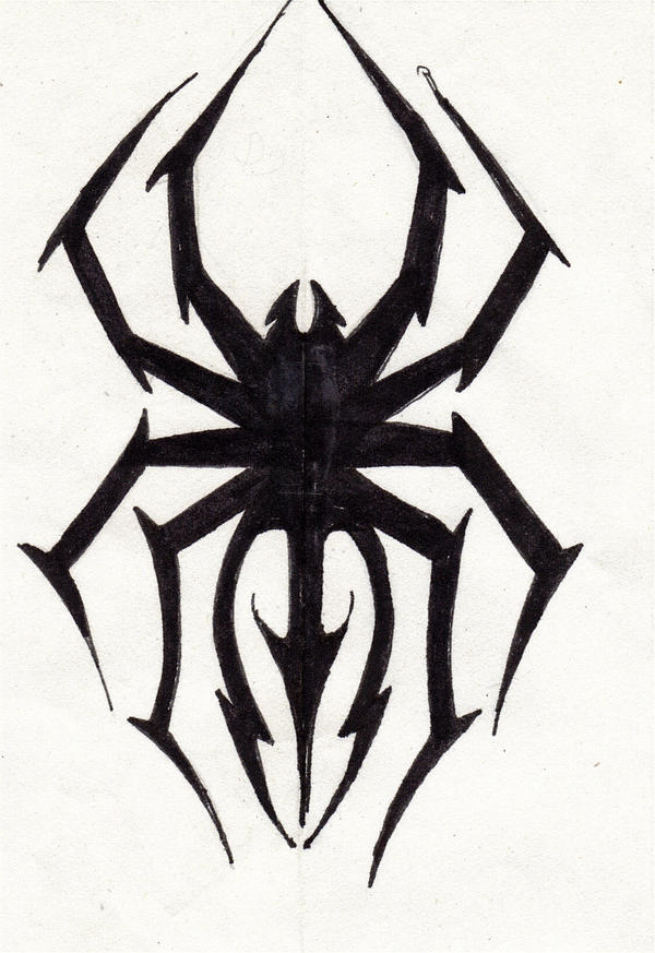 spider tattoo by TheSoulReaperReborn on DeviantArt