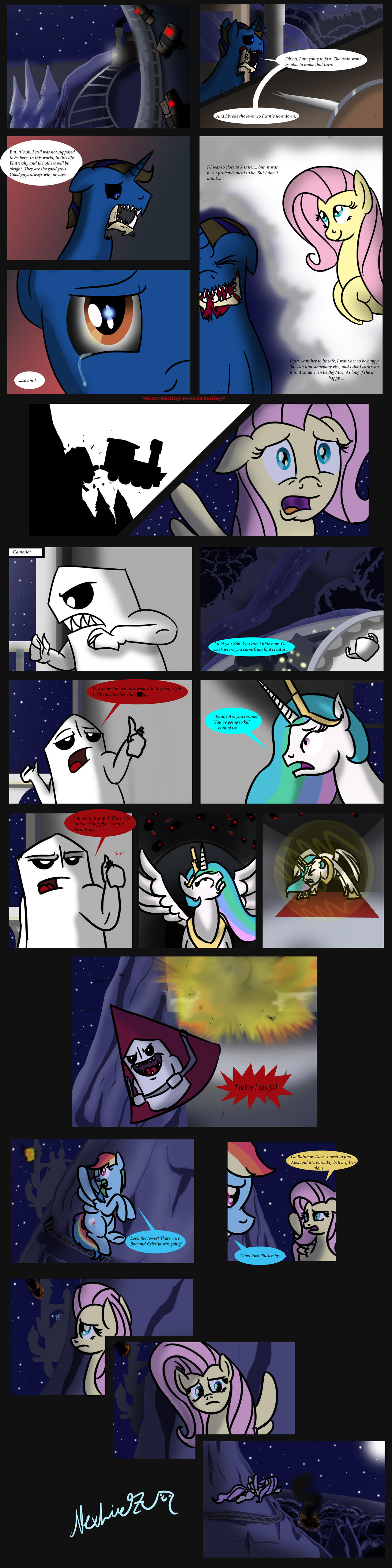 Trip to Equestria page 27 by AlexLive97