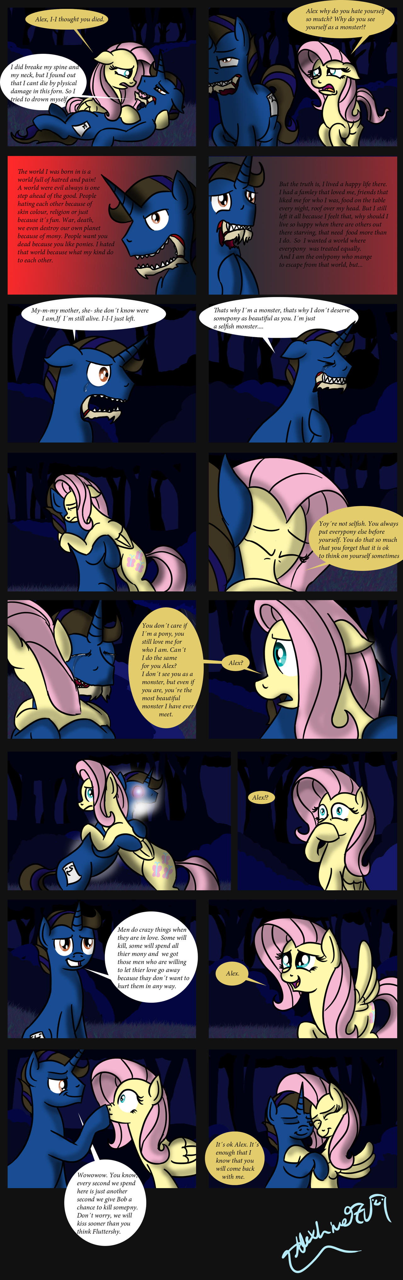 Trip to Equestria page 29 by AlexLive97
