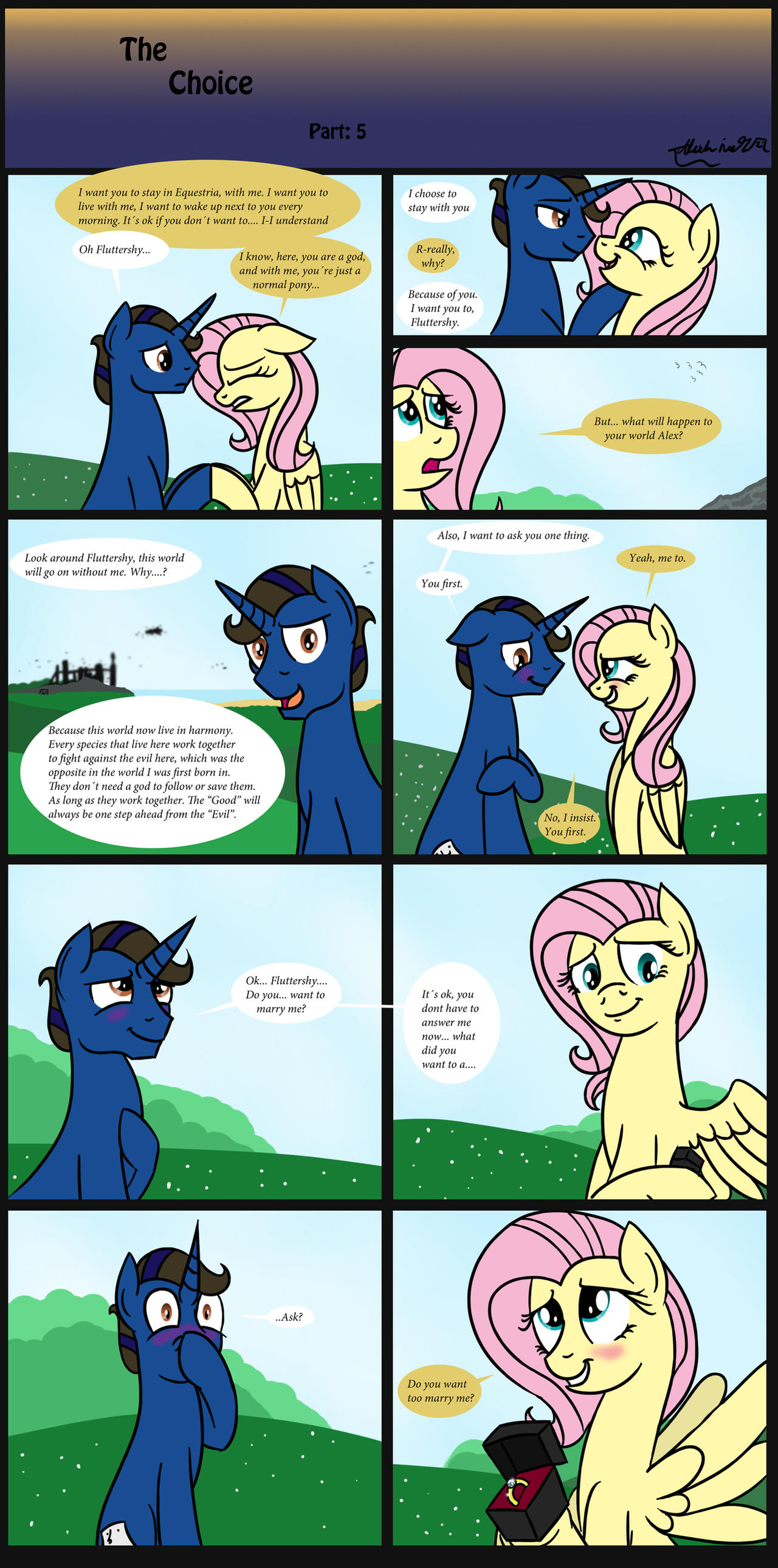 The Choice part 5 by AlexLive97