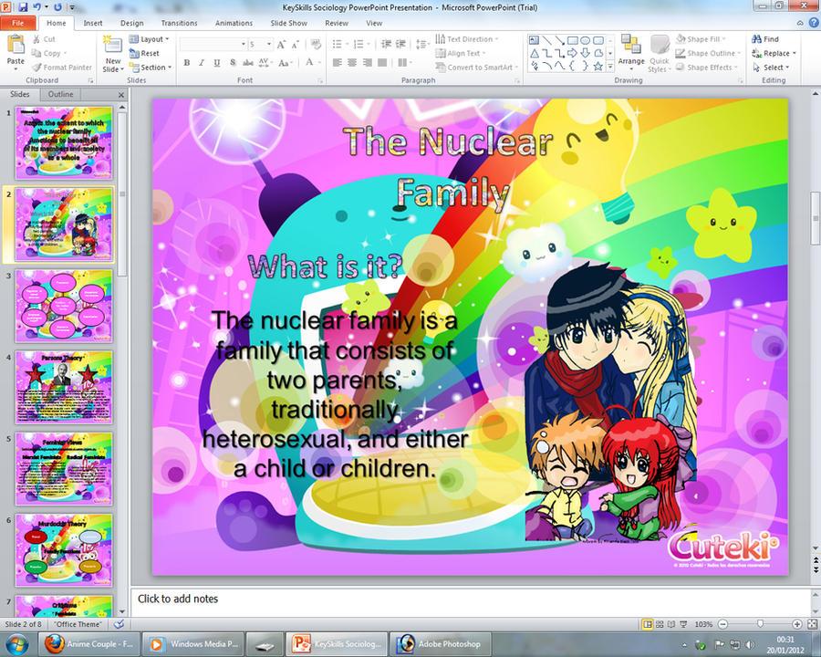 Anime and chibi powerpoint presentation slide by x xanimenerdx x toneelgroepblik Gallery