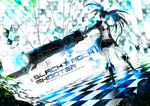 BLACK ROCK SHOOTER by Yekugraphics