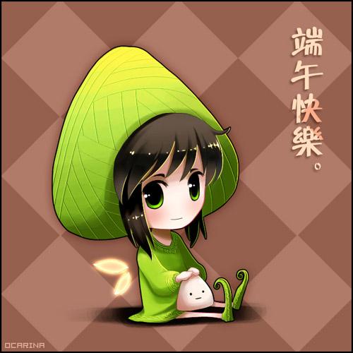 Rice dumpling girl by ocarina-CD