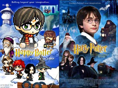 Harry Potter Maple Story style