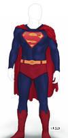 Superman Reboot Suit by Bunk2