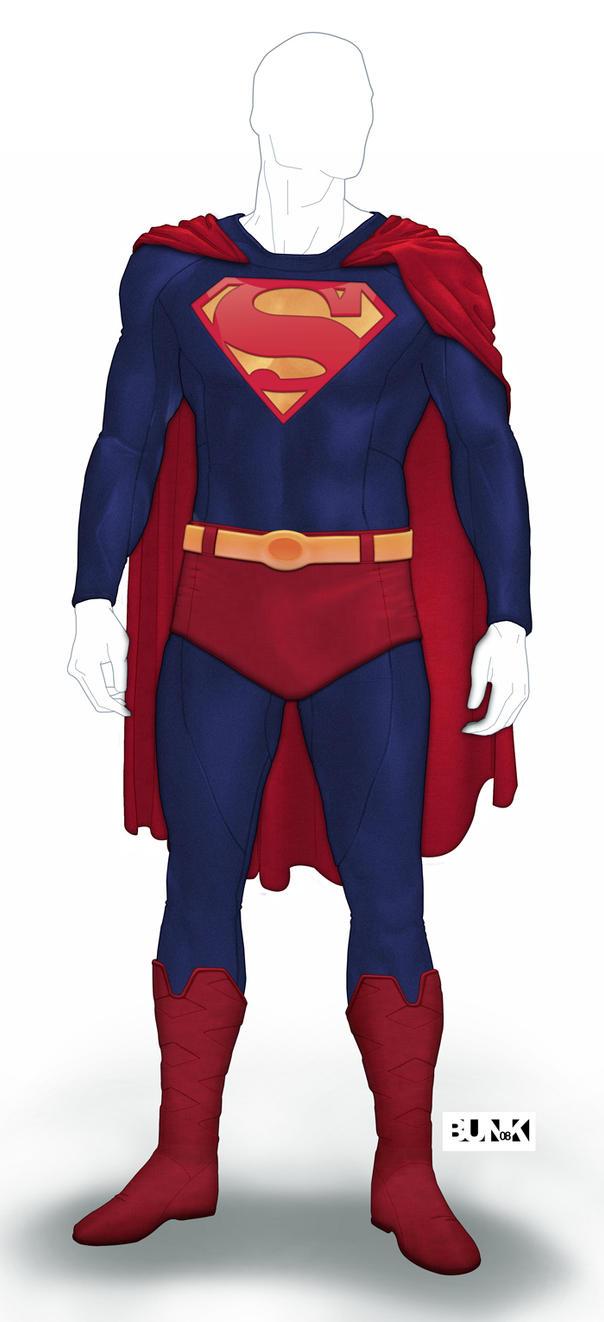 Шаблон детский superman