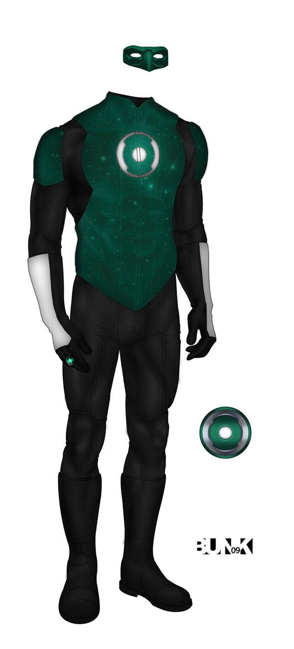 how to make a green lantern suit