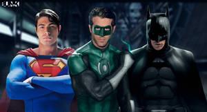 Superman - GL - Batman