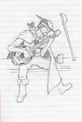 Bard Sketch by MaTT-HaTTeR