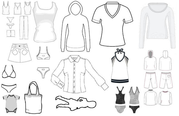 clothing templates for illustrator - clothing template 1 by hospes on deviantart