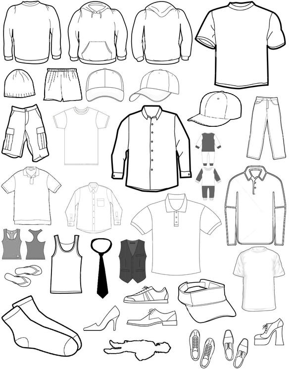 Clothing Template 2 by hospes on DeviantArt