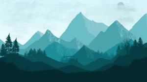 Mountains Landscape by PrimeWorld
