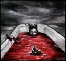 Blodrott Hav by EccedentesiArt