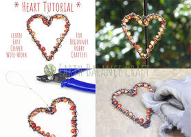 Love Heart Decoration Tutorial