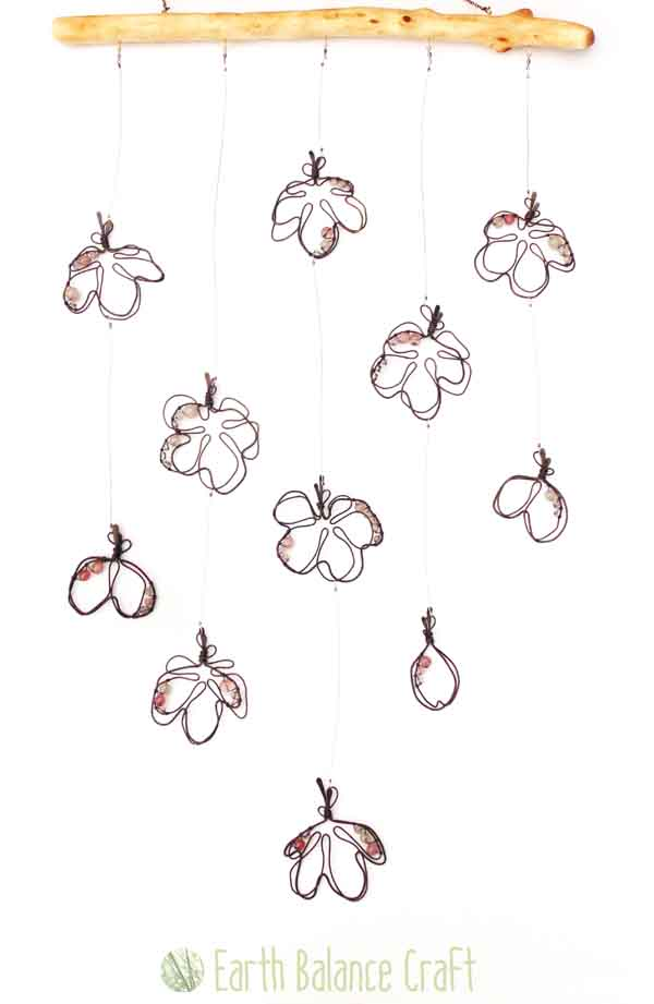 Cherry Blossom Hanging Mobile by EarthBalanceCraft