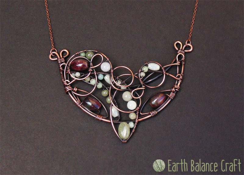Hazy Summer Day Necklace by EarthBalanceCraft