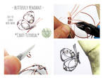 Butterfly Pendant Tutorial by EarthBalanceCraft