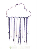 Storm Cloud Suncatcher