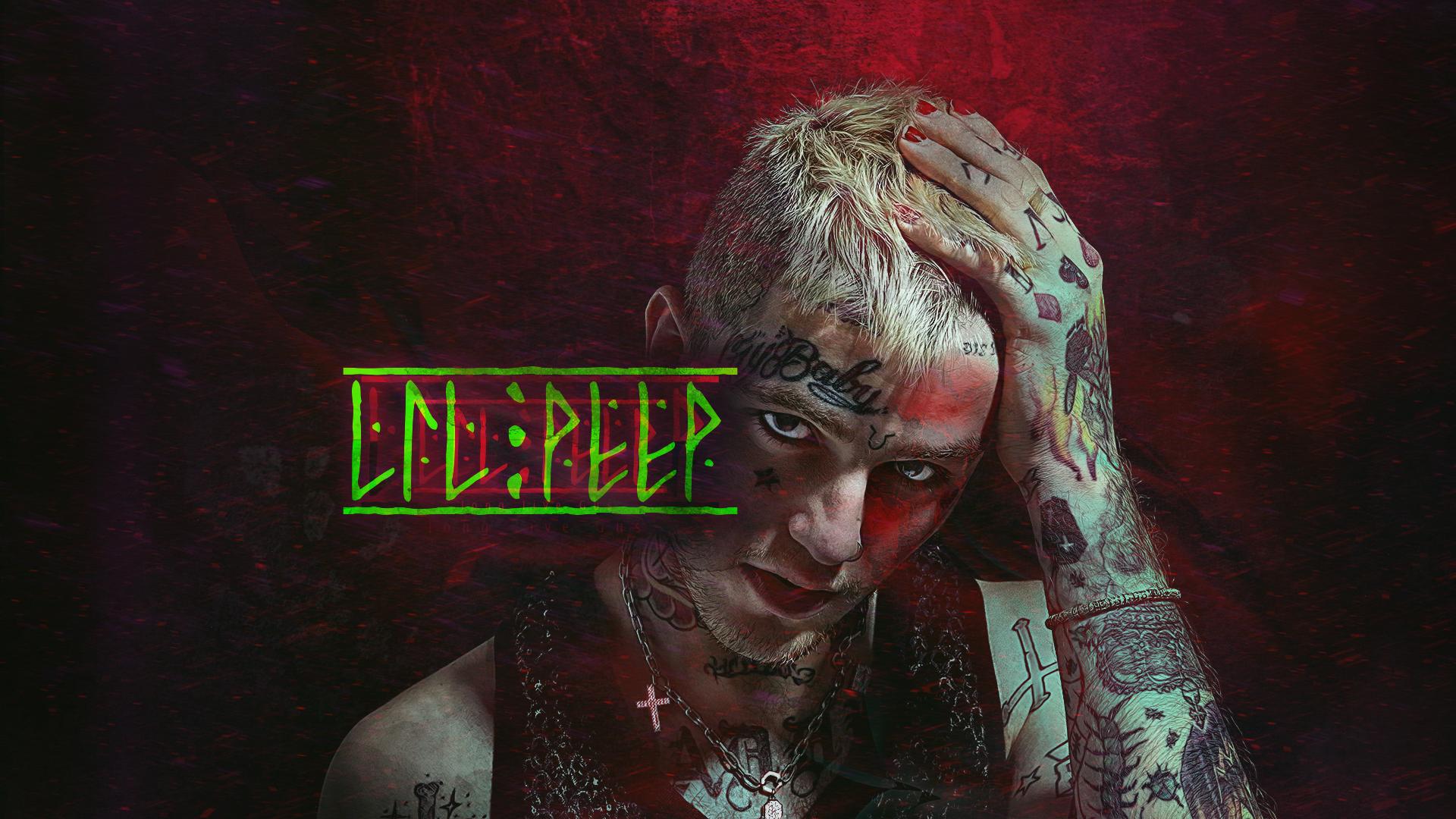 In Loving Memory Of Lil Peep 1920x1080 By Intern9ne On Deviantart