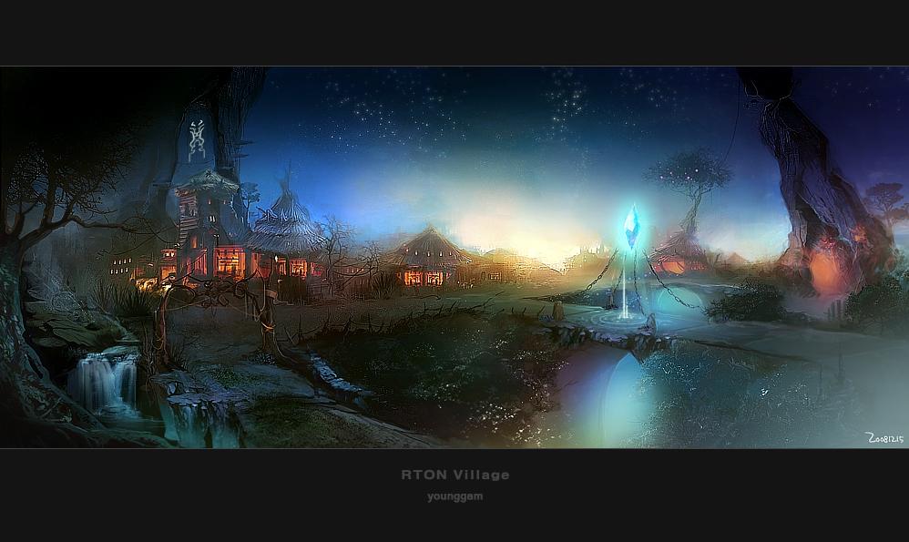 Tábor (Základna) Gotsuki - Stránka 2 Monster_village_by_hongryu