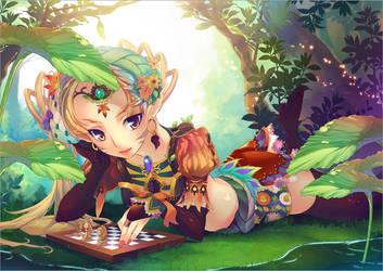 elf - allencia by hongryu