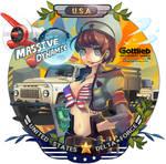 USA girl