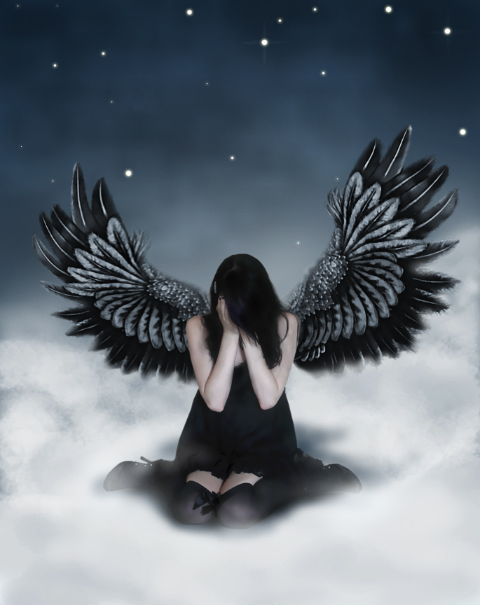 crying angel wallpaper gothic - photo #4