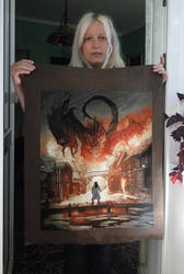 Battle of the Five armies: Smaug by Thriin