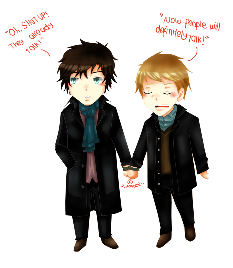 Sherlock and John by lunallachi