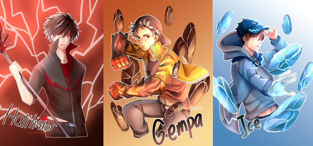 Boboiboy Art Trade Batches 2 By Lunallachi On Deviantart