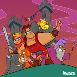 Dave the Barbarian by Anioco