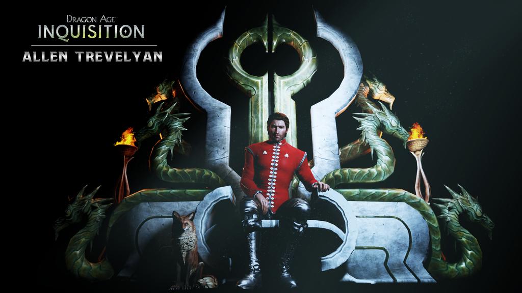 Inquisitor Allen Trevelyan by Cazad0ra