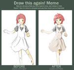 Draw This Again Meme 2 by airibbon