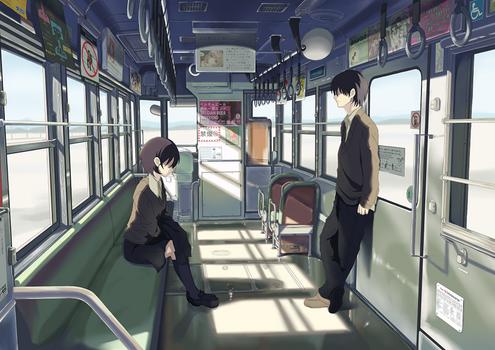 Comm: Taki in Train