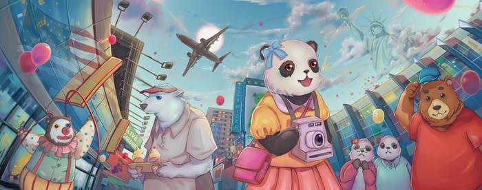 Lan Lan's World Adventure Book Cover