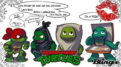 Turtle ninja ( tmnt) by raimbowandraph