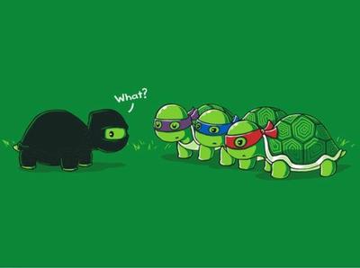 Turtle ninja (tmnt) by raimbowandraph