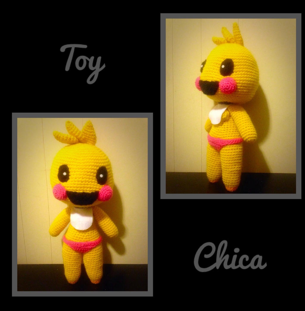 Amigurumi Toy Chica (4 Available) by KittysoftPaws-o3 on ...