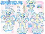 Sprinkles New Ref! (2017) by KittysoftPaws-o3