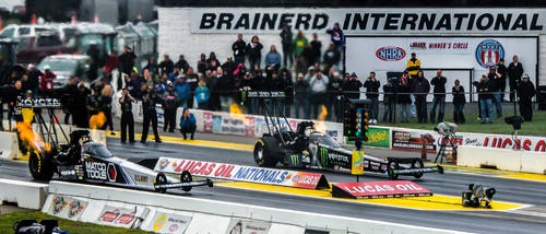 Off the Starting Line - NHRA2015
