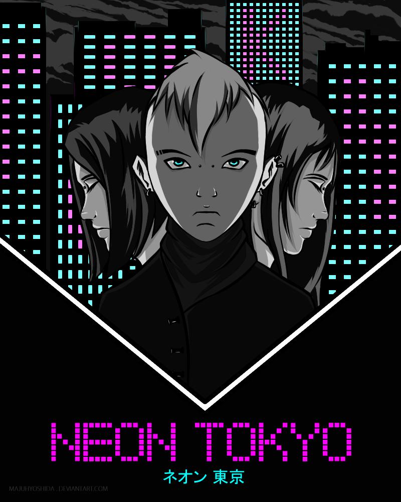 Neon Tokyo by MajuhYoshida