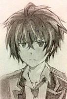 Rentaro Satomi~ Art Trade! by A-lan-na