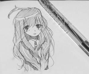 Pen Sketch by A-lan-na