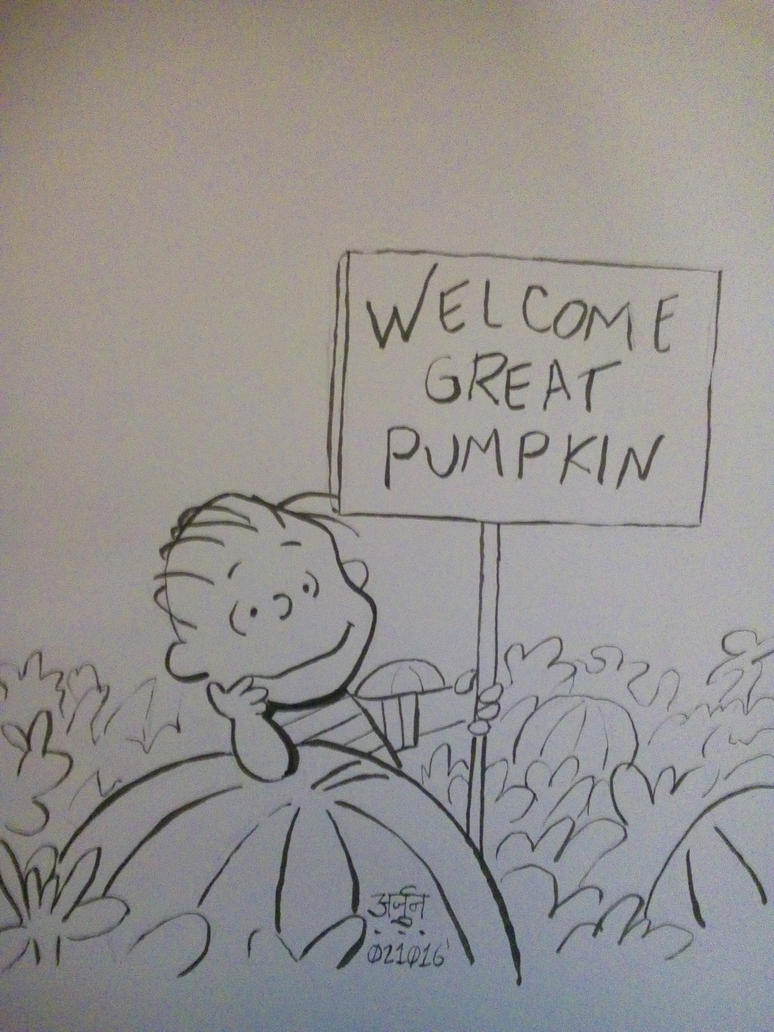 The Great Pumpkin by ErickArjuna