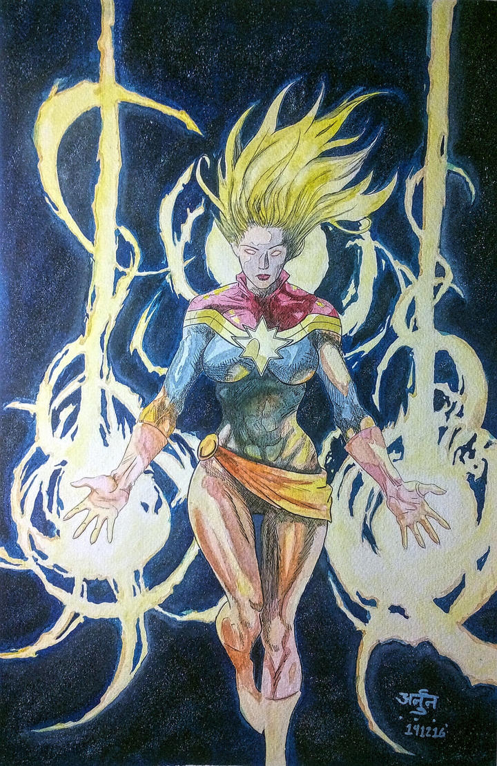 Captain Marvel by ErickArjuna