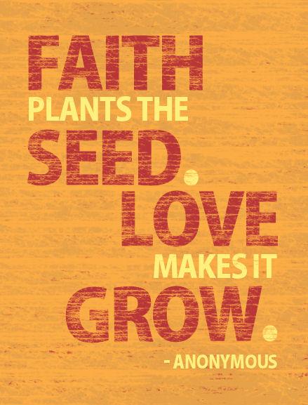 Faith Plants the Seed..... by krazy-kristina