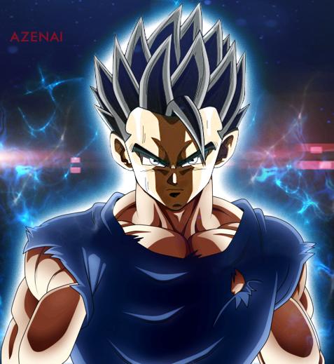 Ultra Instinct Dragon Ball Super Wallpaper: Gohan Ultra Instinct By Azenai On DeviantArt