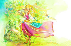 TLOZ-Soothing Melody by Gahiko