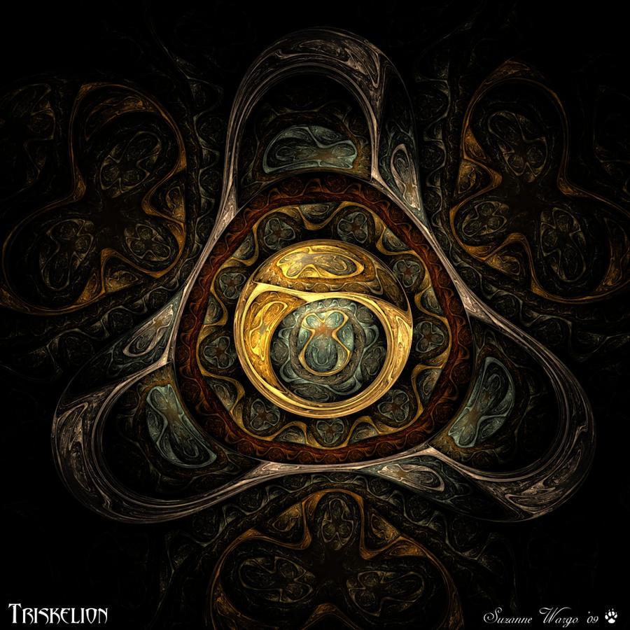 Triskelion by WyrdWolf