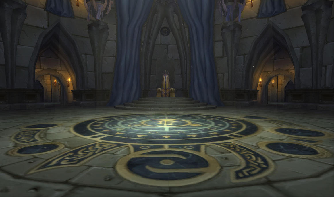 Zeus Throne Room Undercity Throne Room by